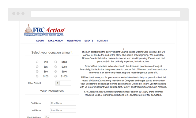 Family Research Council Action